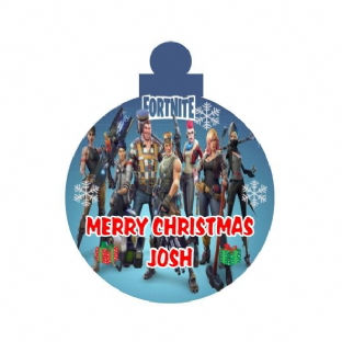 Fortnite Acrylic Christmas Ornament Decoration